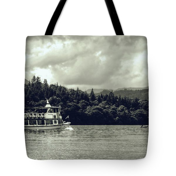 Touring The Lakes In Sepia Tote Bag