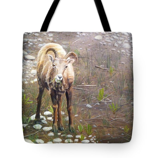 Tote Bag featuring the painting Tourist Attraction by Tammy Taylor