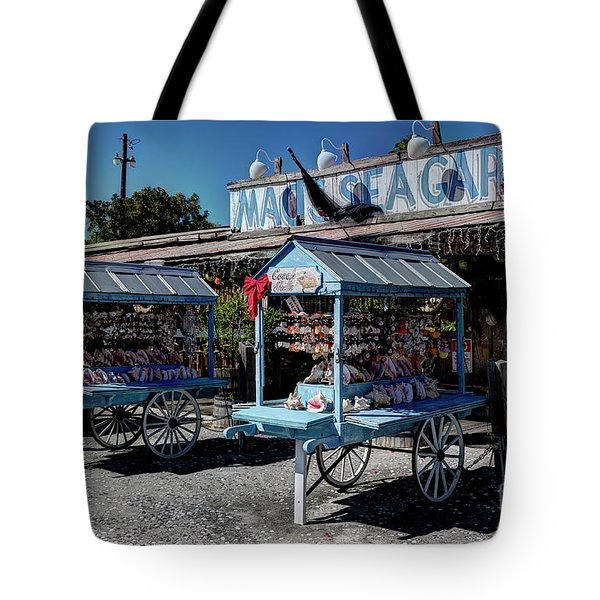 Tourist Souvenir Shell Carts Tote Bag