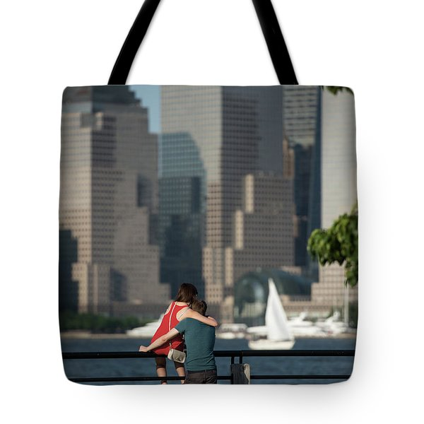 Tourists Tote Bag by Nicki McManus