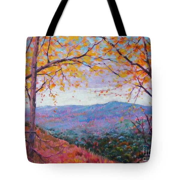 Toward Blue Ridge Tote Bag
