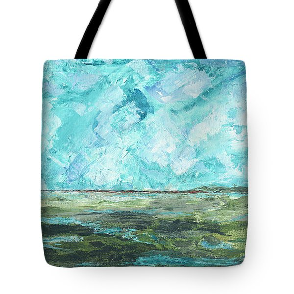 Toward Pinckney Island Tote Bag