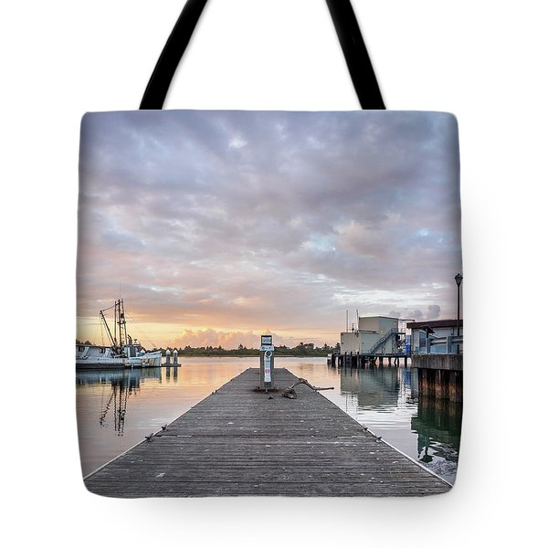 Tote Bag featuring the photograph Toward The Dusk by Greg Nyquist