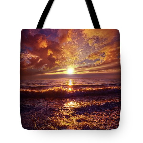 Tote Bag featuring the photograph Toward The Far Reaches by Phil Koch