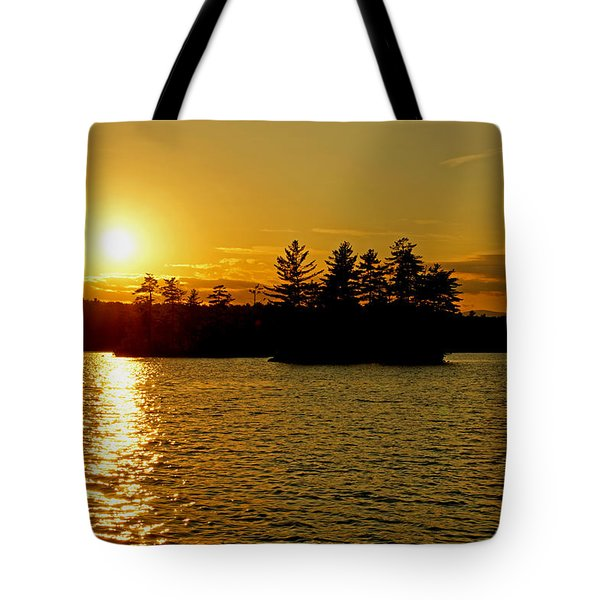 Tote Bag featuring the photograph Towards Infinity by Lynda Lehmann