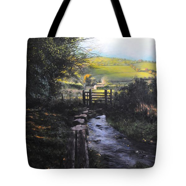 Towards Llanferres Tote Bag