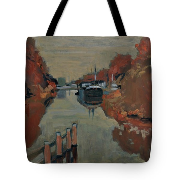 Towards Pius Harbour Tote Bag