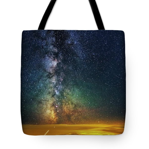 Towards The Core Tote Bag