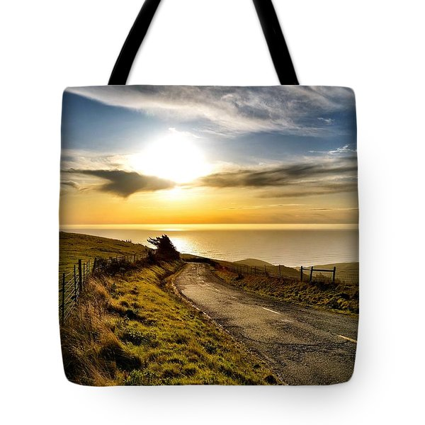 Towards The Sunset Tote Bag