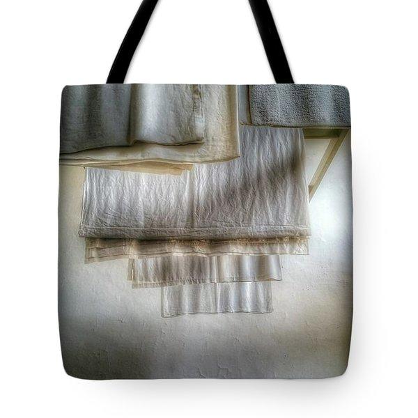 Towels And Sheets Tote Bag