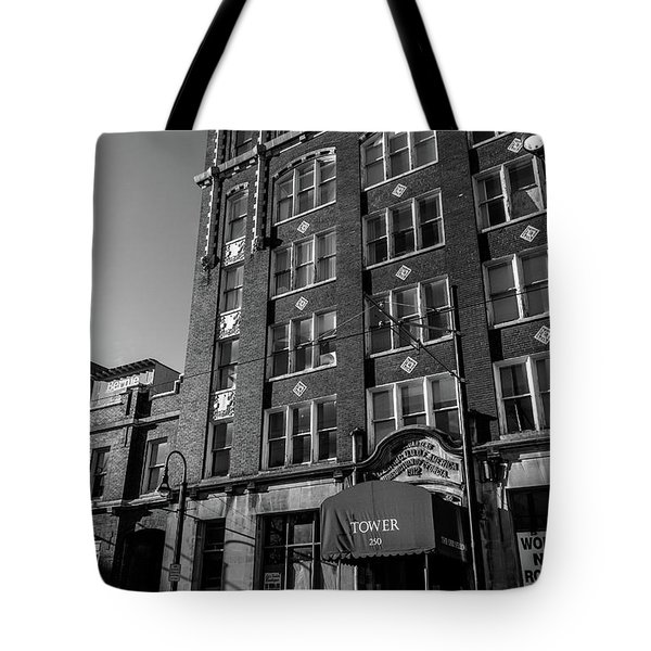 Tower 250 Tote Bag