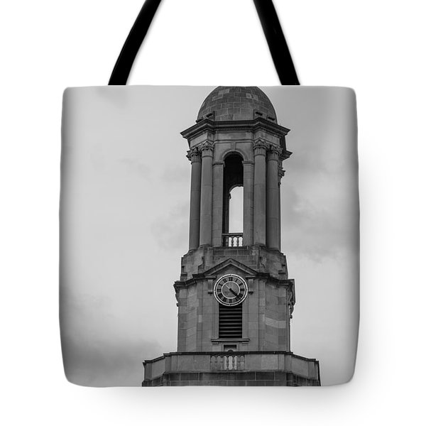 Tower At Old Main Penn State Tote Bag by John McGraw