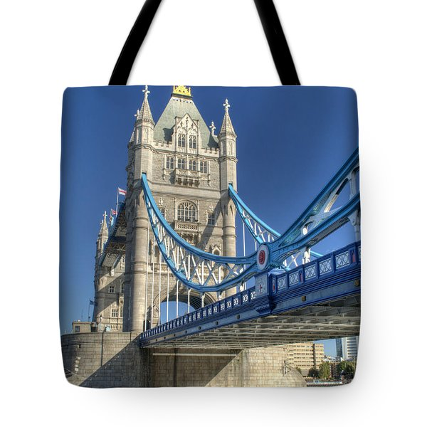 Tower Bridge 2 Tote Bag by Chris Day