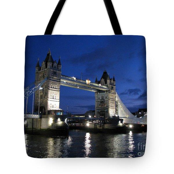 Tower Bridge Tote Bag by Amanda Barcon