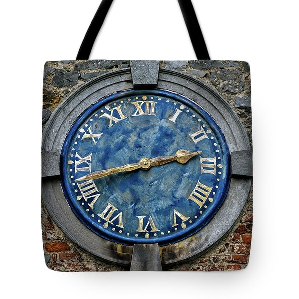 Tower Clock Tote Bag