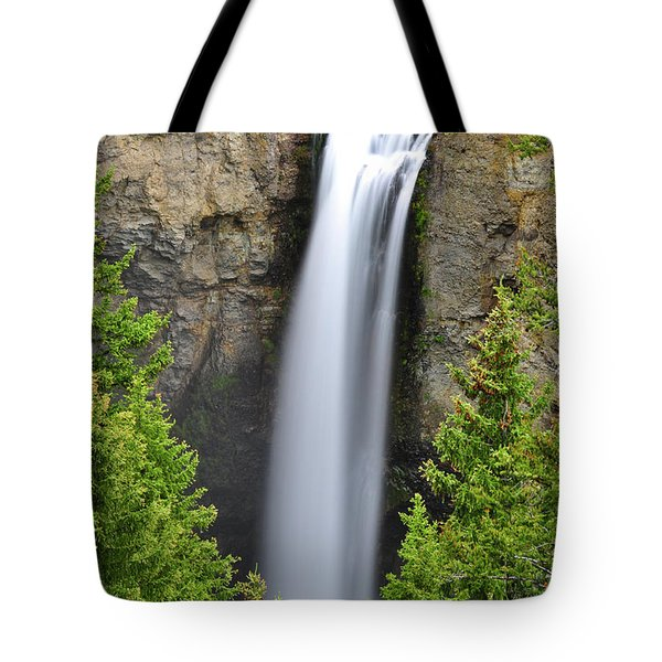 Tower Fall Tote Bag by Greg Norrell