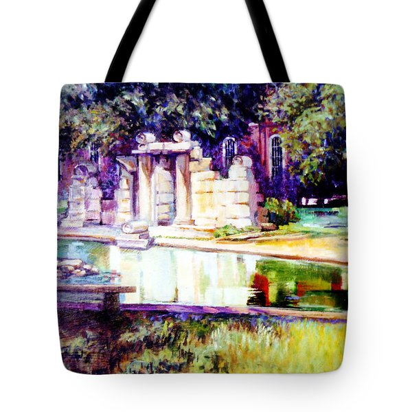 Tower Grove Park Tote Bag