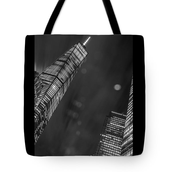 Tote Bag featuring the photograph Tower Nights by Theodore Jones