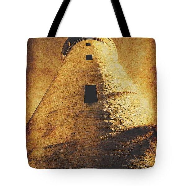 Tower Of Grunge Tote Bag