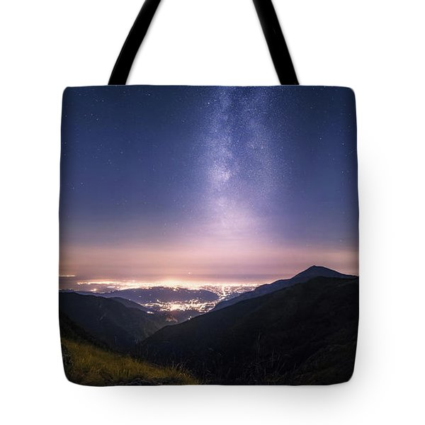 Tower Of Infinity Tote Bag