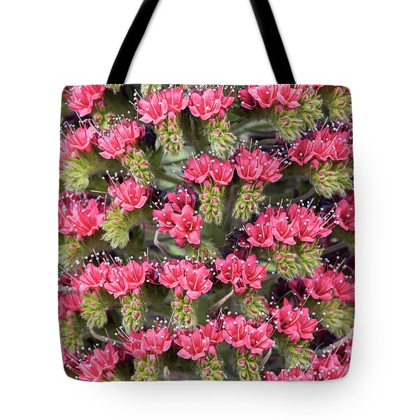 Tote Bag featuring the photograph Tower Of Jewels by Tim Gainey