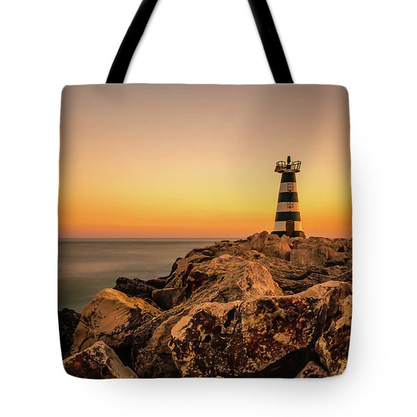 Tower Of Light Tote Bag