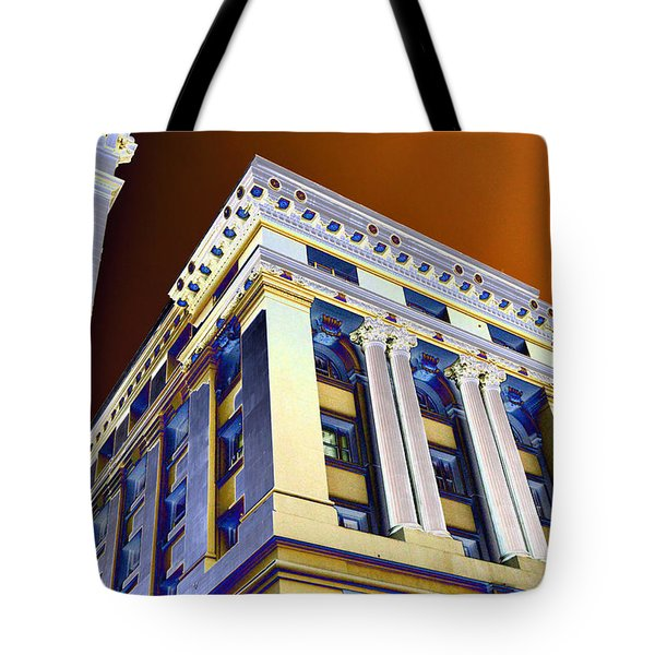 Tower Of Power Tote Bag
