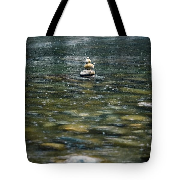 Tower Of Stones Tote Bag by Joana Kruse