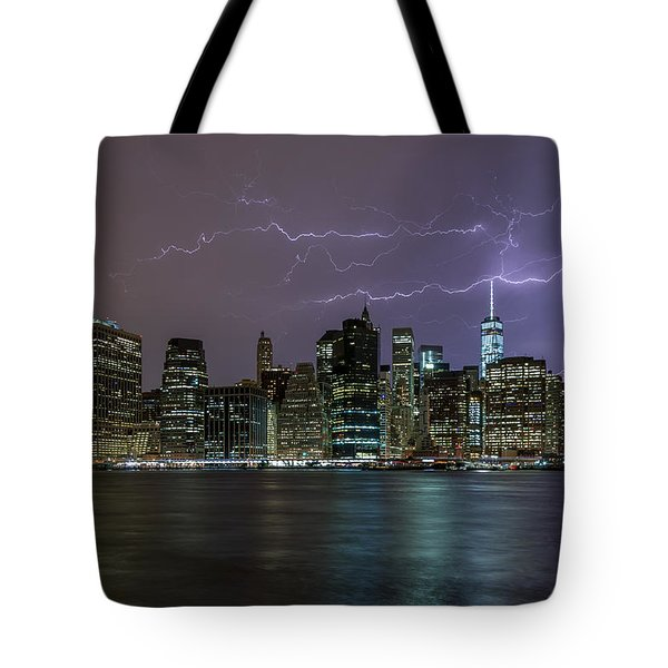 Tower One  Tote Bag
