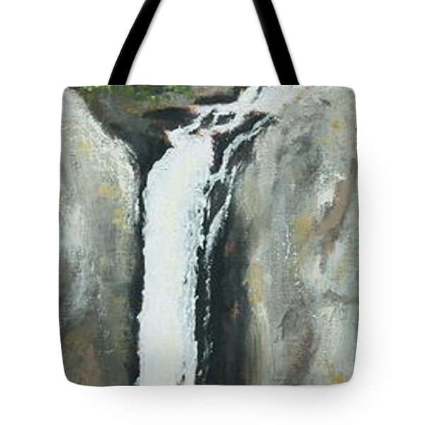 Towering Falls Tote Bag