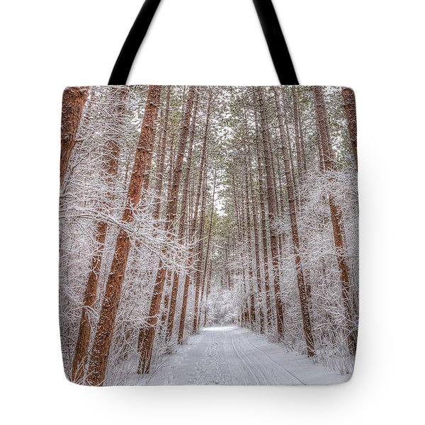 Tote Bag featuring the photograph Towering  by Paul Schultz
