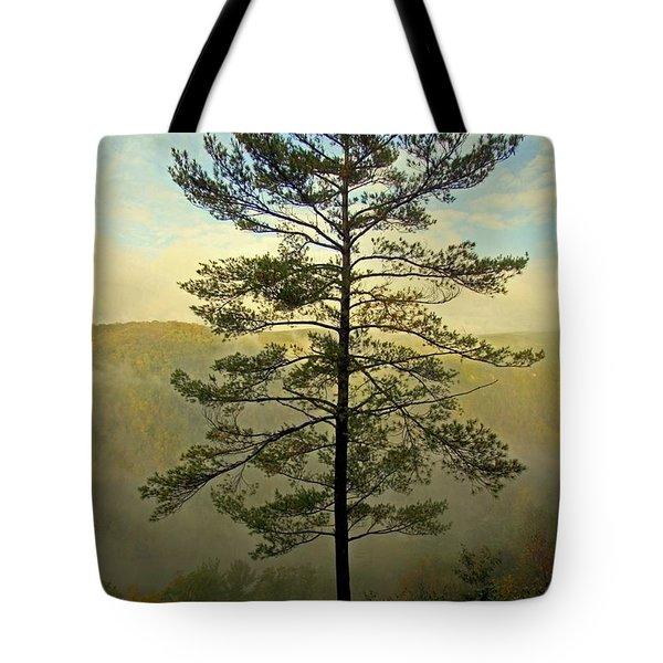 Towering Pine Tote Bag