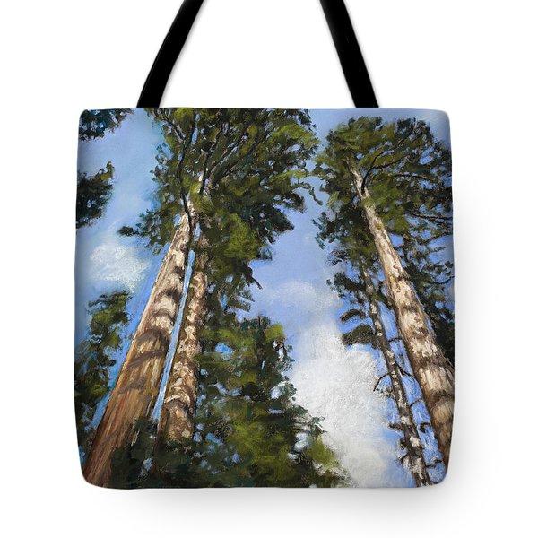 Towering Sequoias Tote Bag