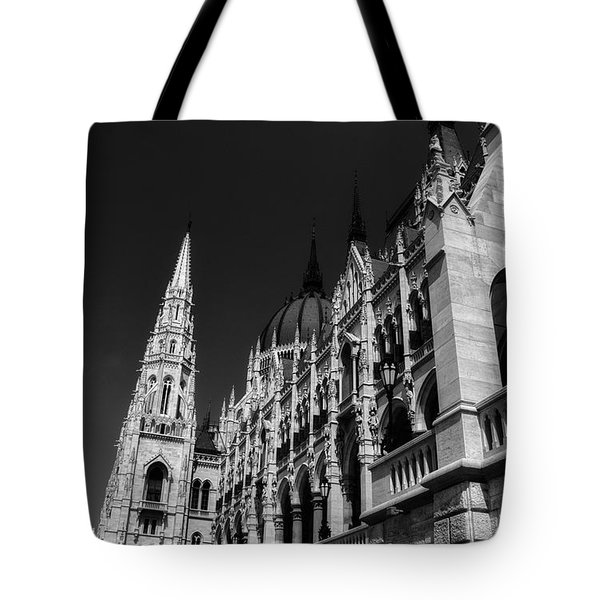 Towering Spires Tote Bag