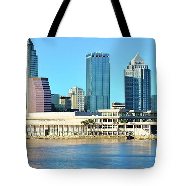 Tote Bag featuring the photograph Towers By The Bay by Frozen in Time Fine Art Photography
