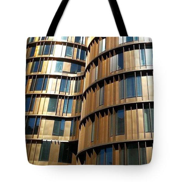 Towers In Copenhagen Tote Bag