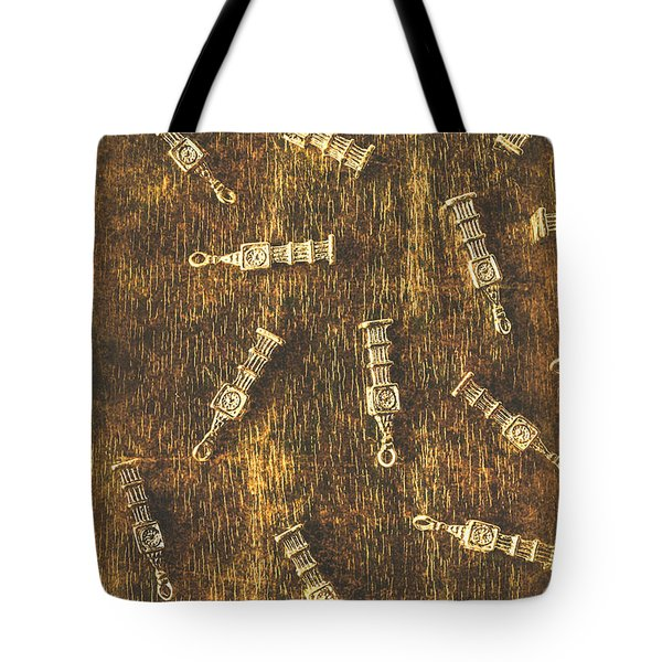 Towers Of Old Britain Tote Bag