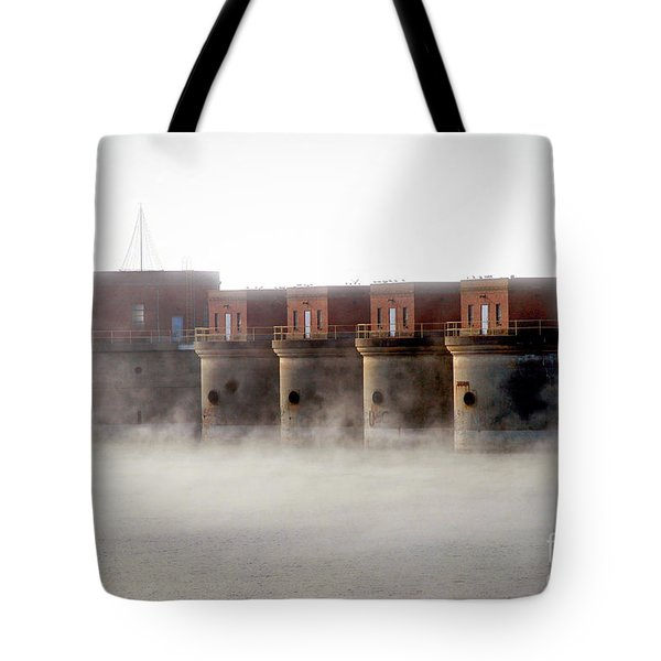 Towers Rising Tote Bag