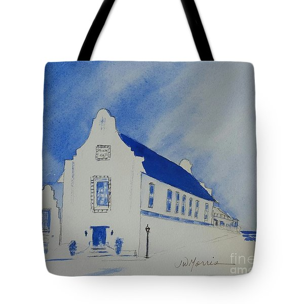 5bee190c41 Tote Bag featuring the painting Town Hall