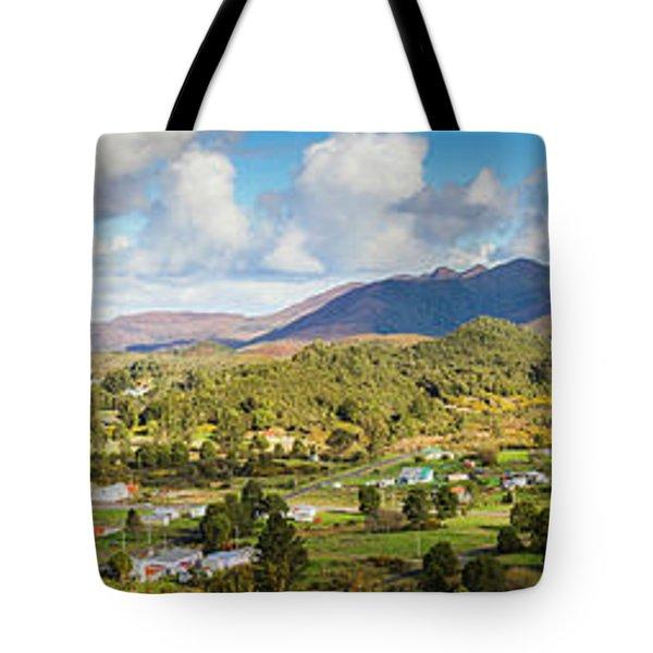 Town Of Zeehan Australia Tote Bag