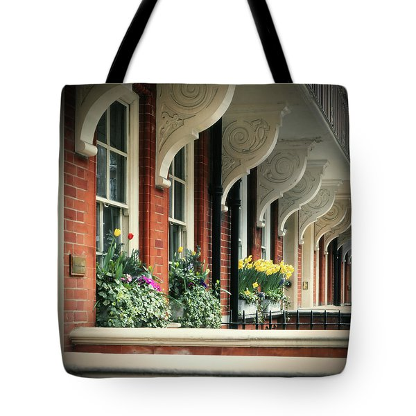 Townhouse Row - London Tote Bag