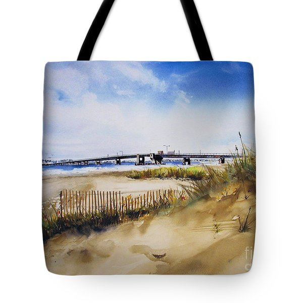 Townsends Inlet Tote Bag