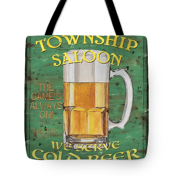 Township Saloon Tote Bag