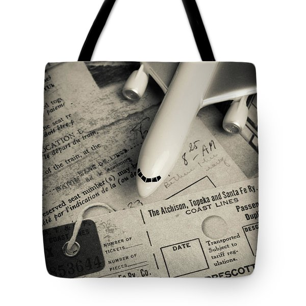 Toy Airplane II Tote Bag by Edward Fielding