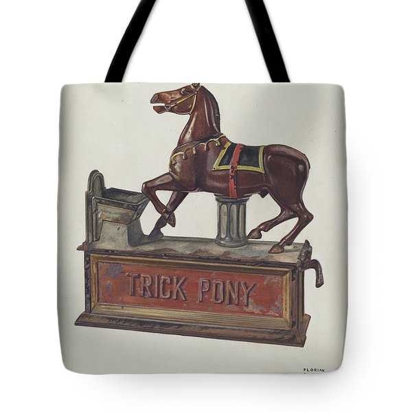 Toy Bank - Trick Pony Tote Bag