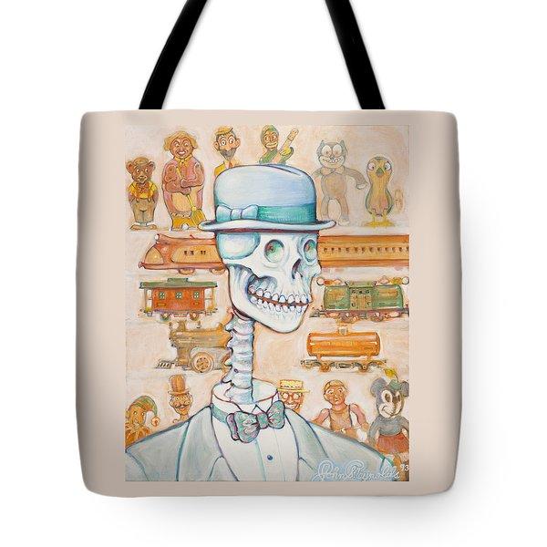 Toy Bones Tote Bag
