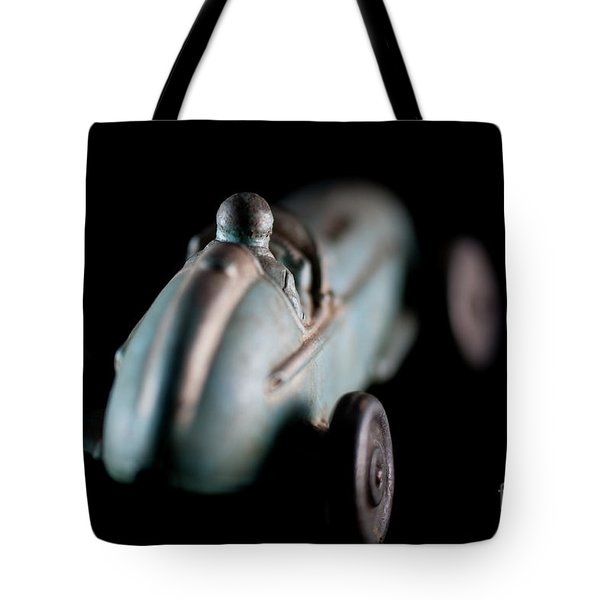 Toy Race Car Tote Bag by Wilma Birdwell