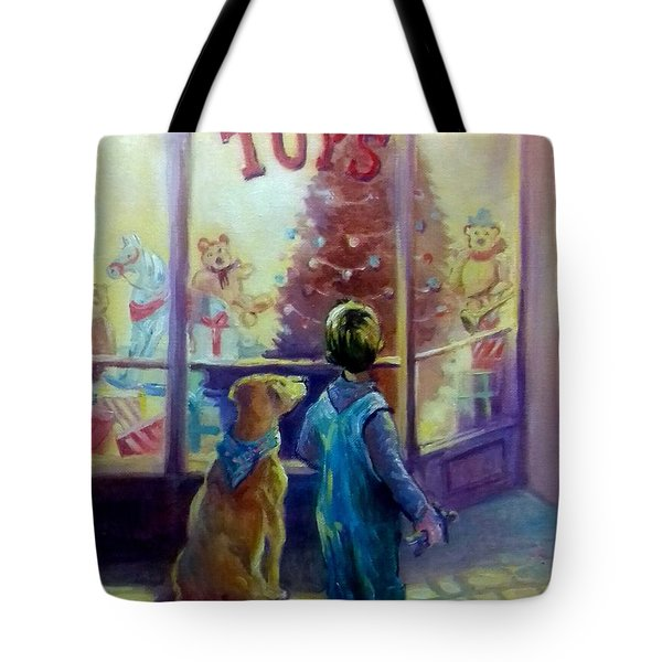 Toy Shop Tote Bag