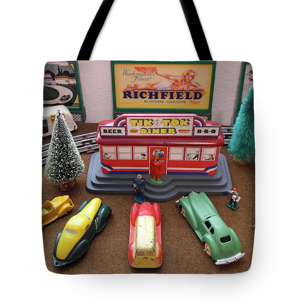 Toytown - Tik Tok Diner Tote Bag