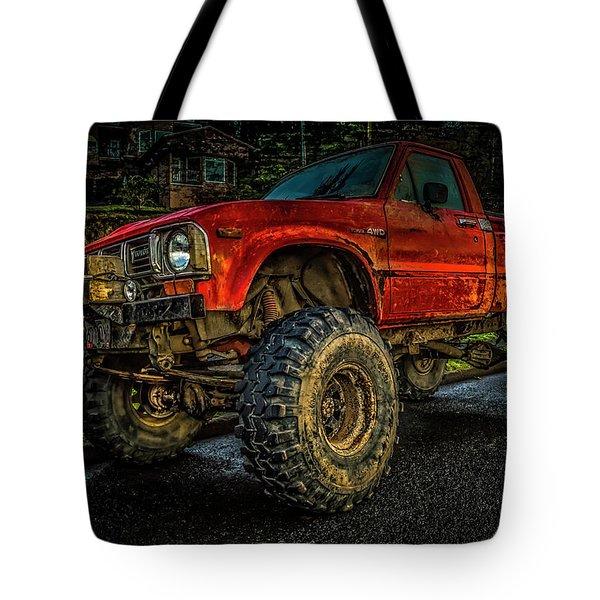 Toyota Grunge Tote Bag